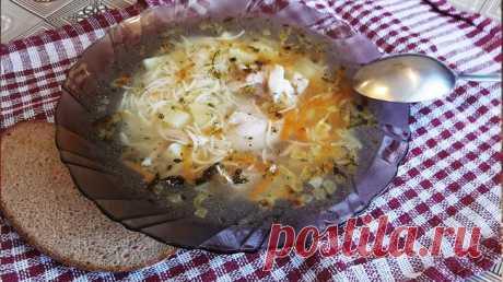 Суп из куриных голеней с вермишелью