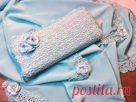 Tutorial Monedero (Cartera ) 👛 Encaje a Crochet con material reciclado  paso a paso 🌺