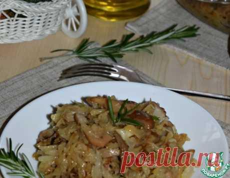 Запеченная капуста с грибами – кулинарный рецепт