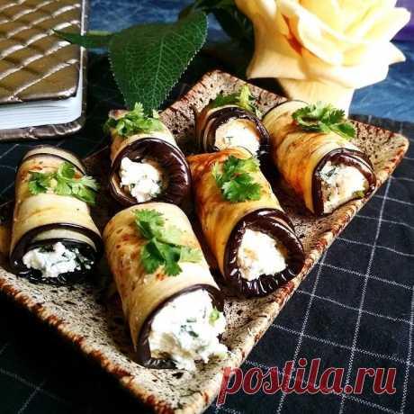 Баклажаны с творогом — Sloosh – кулинарные рецепты