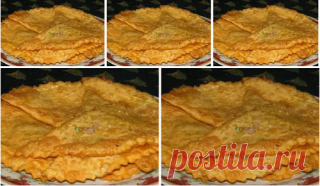 """The \""""Crimean\"""" chebureks from puff pastry — Cookery"""
