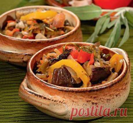 Аджапсандали, второе блюдо. Пошаговый рецепт с