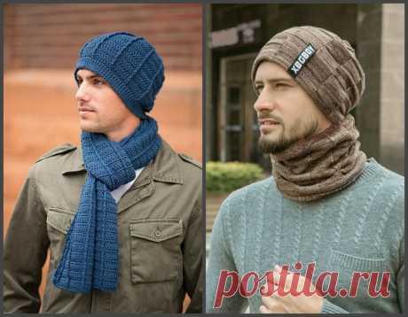 Мужские зимние вязаные шапки. Что носим и как выбираем.   Рекомендательная система Пульс Mail.ru