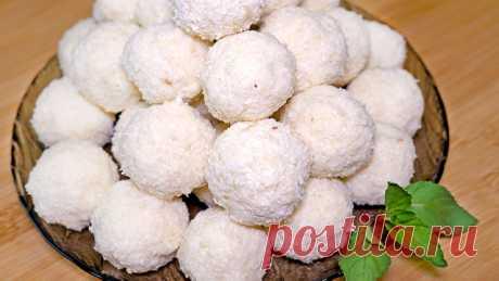 Домашние конфеты по мотивам рафаэлло – пошаговый рецепт с фотографиями