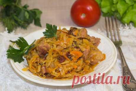 Солянка из квашеной капусты с мясом рецепт с фото пошагово и видео - 1000.menu