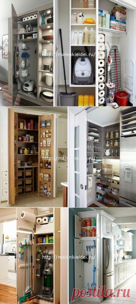 Современные подсобные помещения в квартирах