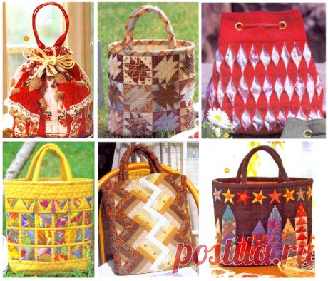Сумки - Текстильные сумки - идеи и варианты - Галерея Сумки uploaded in Текстильные сумки - идеи и варианты: