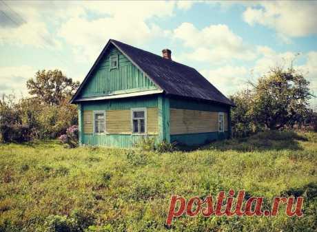 Семья купила старый дом и превратила его в уютную дачу