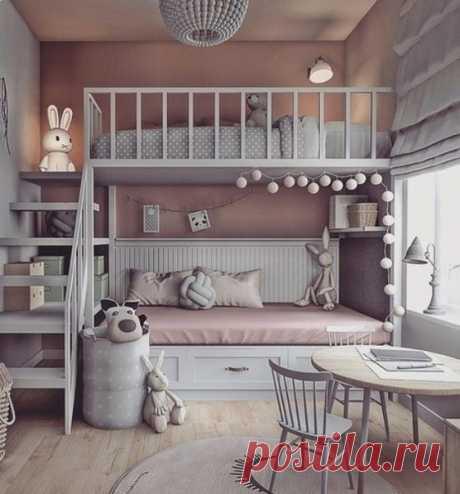 Симпатичная идея для детской комнаты