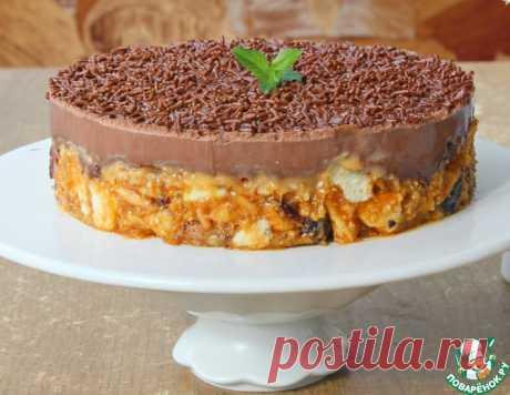 Холодный шоколадный торт без выпечки – кулинарный рецепт