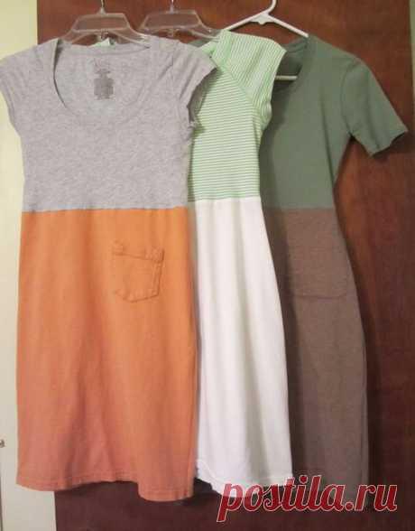 Обновляем одежду своими руками: Идеи переделки блузок, футболок, рубашек