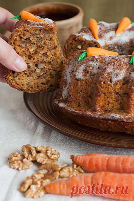Морковный кекс - Рыжая книга кухонных пределов — LiveJournal