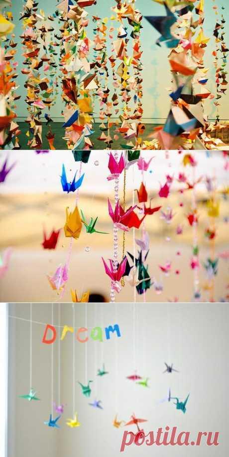 Любовь к бумаге или 1001 оригами