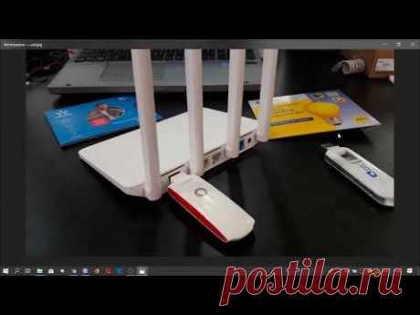 Подключение USB модемов к Wi-Fi роутеру. Инструкция