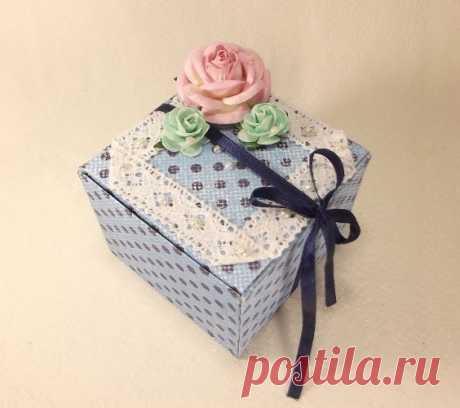 Подарочная коробочка за 30 минут