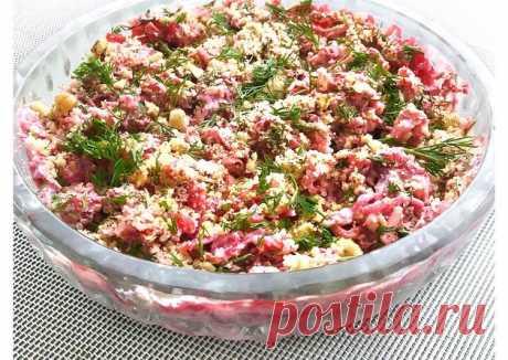 Салат из свеклы Автор рецепта 𝑀𝒶𝓇𝒾𝓃𝒶 𝓅𝑒𝓇𝑒𝓁𝓎𝑔𝒾𝓃𝒶 💫 - Cookpad