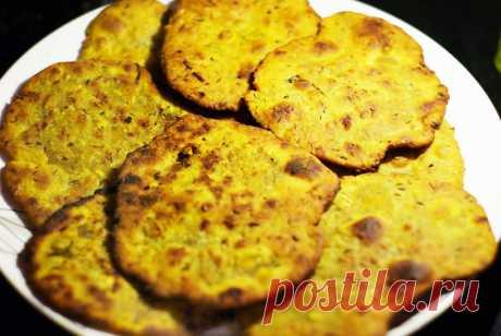 Индийские лепешки с чесноком - рецепт с фото пошагово Индийские лепешки с чесноком - пошаговый кулинарный рецепт приготовления с фото, шаг за шагом.