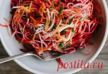 Минутный салат, который можно есть хоть каждый день | Краше Всех