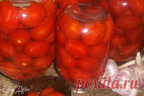 Помидоры по-болгарски. Ингредиенты: помидоры, вода, сахар