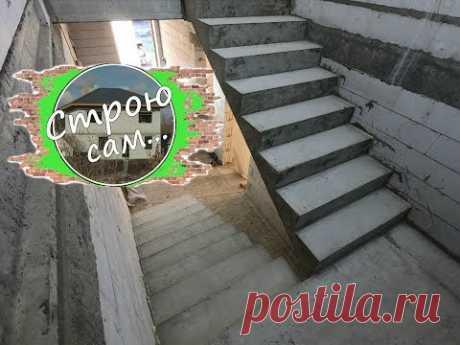 Лестница в частном доме своими руками!