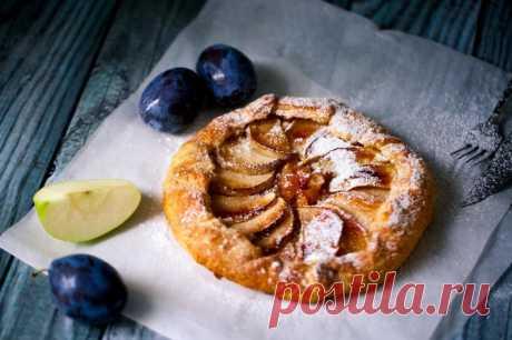 Галета с яблоками — Sloosh – кулинарные рецепты