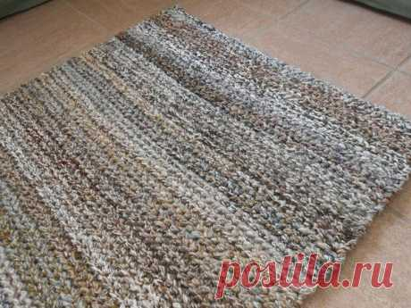Knitted rugs hook: interesting models, schemes and the description - record of the user Natalya (Natalya) in the community Knitting a hook in category Knitted a hook accessories