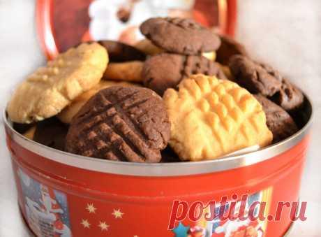 Печенье как из банки, которое тает во рту | Наталья Рукодельная | Яндекс Дзен