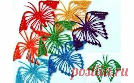 Пусть бабочки порхают! из категории Интересные идеи – Вязаные идеи, идеи для вязания