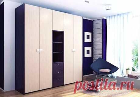 Распашные шкафы из ЛДСП: купить распашной шкаф ЛДСП
