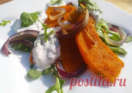 (1) Запечённая тыква с йогуртом - пошаговый рецепт с фото. Автор рецепта Надежда Махрова . - Cookpad