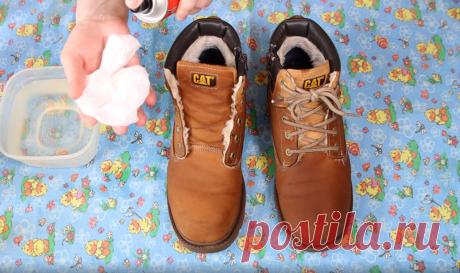 Как почистить обувь, мех от грязи, убрать запах пота, очистить цветную обувь (замша, нубук, кожа), читайте в этой статье.   Марина Жукова   Яндекс Дзен
