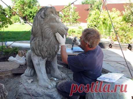 Скульптурный бетон своими руками - betfundament.com Содержание1 Три способа сделать скульптуру из бетона своими руками1.1 Литье бетона1.2 Резьба по бетону1.3 Изготовление скульптуры с использованием сетки2 Скульптурный бетон для изготовления фигурок и камней в саду2.1...