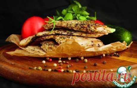 Жареная куриная грудка в пергаменте - кулинарный рецепт