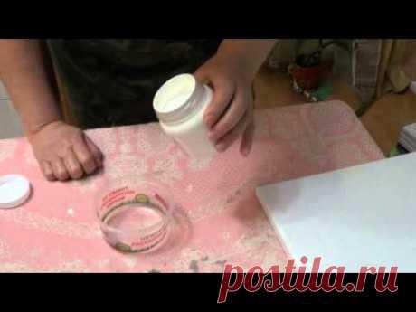 Подготовка холста для живописи маслом - YouTube