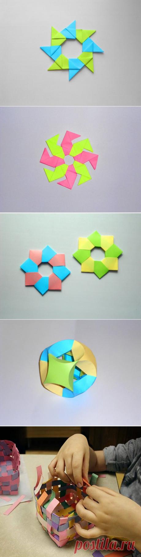 El origami la estrella del papel. Modular el origami