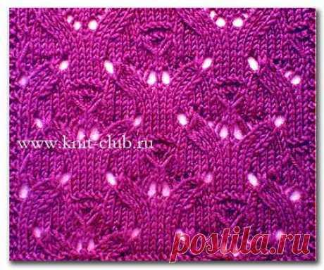 Узоры для вязания спицами | Записи в рубрике Узоры для вязания спицами | Вязание-для-женщин