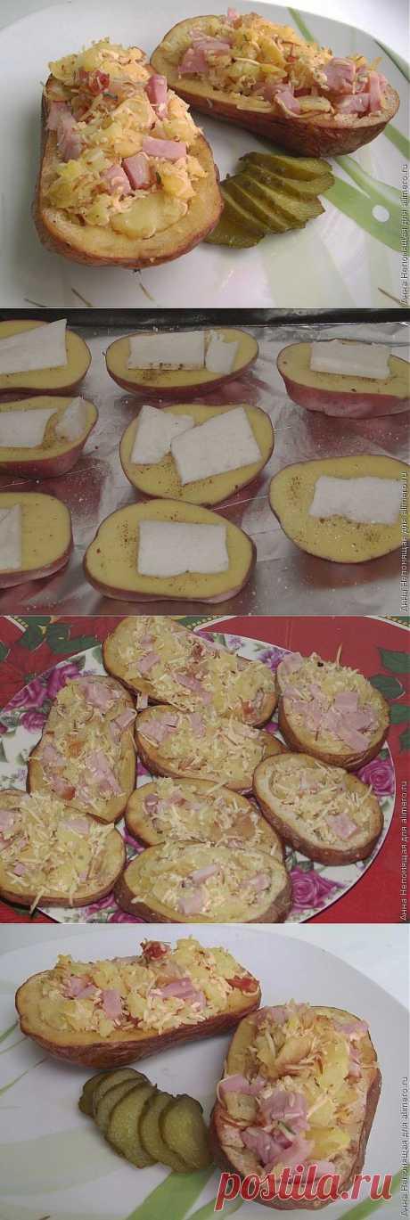 Фаршированный картофель / Рецепты с фото