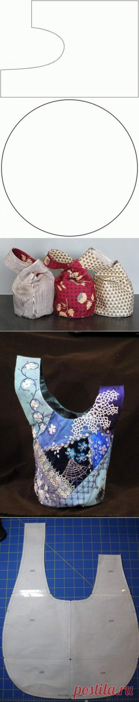 Японская сумочка омияге своими руками — Сделай сам, идеи для творчества - DIY Ideas