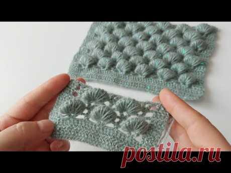 3D Tığ işi şahane yelek şal örgü modeli How to crochet knitting