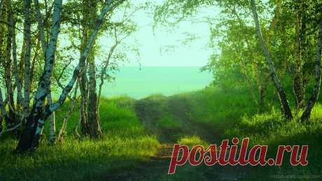 красотища летних пейзажей на фото_обоях