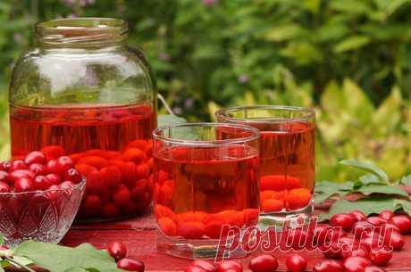 5 простых рецептов ягодных напитков