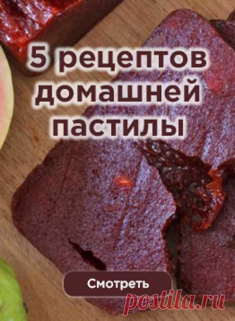 Из чего и как приготовить пастилу в домашних условиях – 5 проверенных рецептов