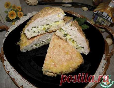 Куриный пирог-запеканка – кулинарный рецепт