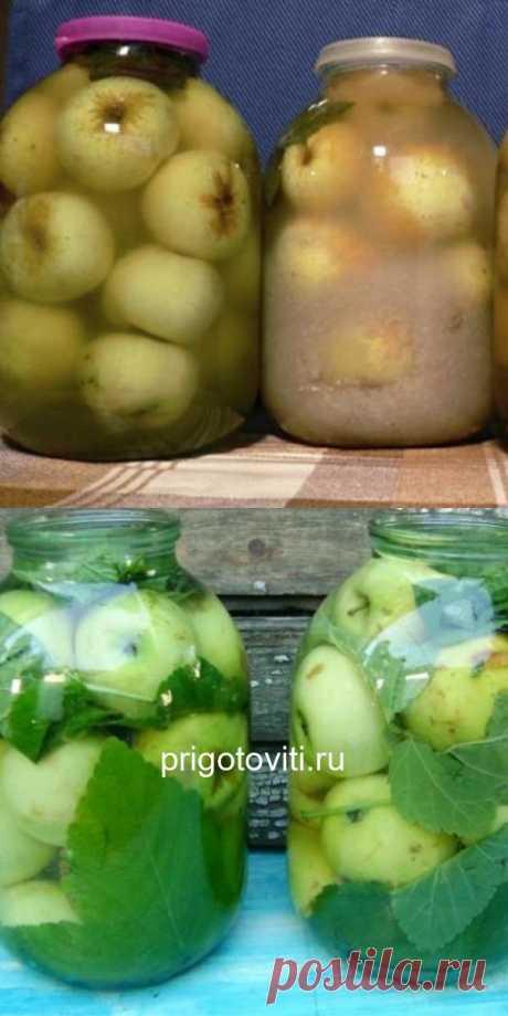 Вкусный и простой рецепт моченых яблок в банках, который понравится всем без исключения. - Все своими руками