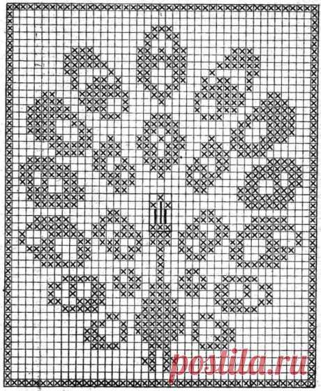 La labor de punto por el gancho del esquema de filete - la elección de 70 esquemas con la descripción