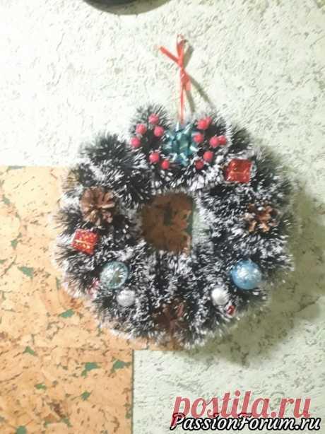 Рождественские венки - запись пользователя Кроха (Елена) в сообществе Новый год в категории Новогодний декор
