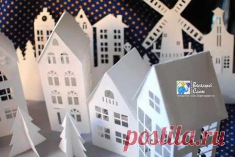 Creamos la ciudad mágica del papel