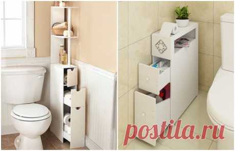 Как с помощью выдвижных полок и ящиков навести порядок в ванной комнате