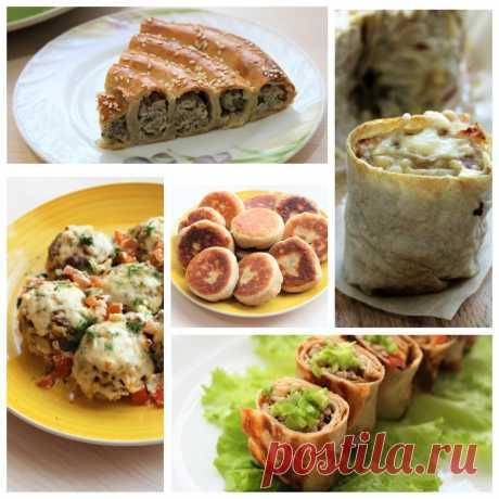 Пять вкуснейших блюд из мясного фарша. Отличные рецепты на каждый день | ОЛЯ ГОТОВИТ | Яндекс Дзен