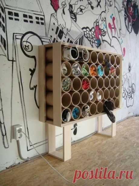 Идеи для необычного применения труб ПВХ